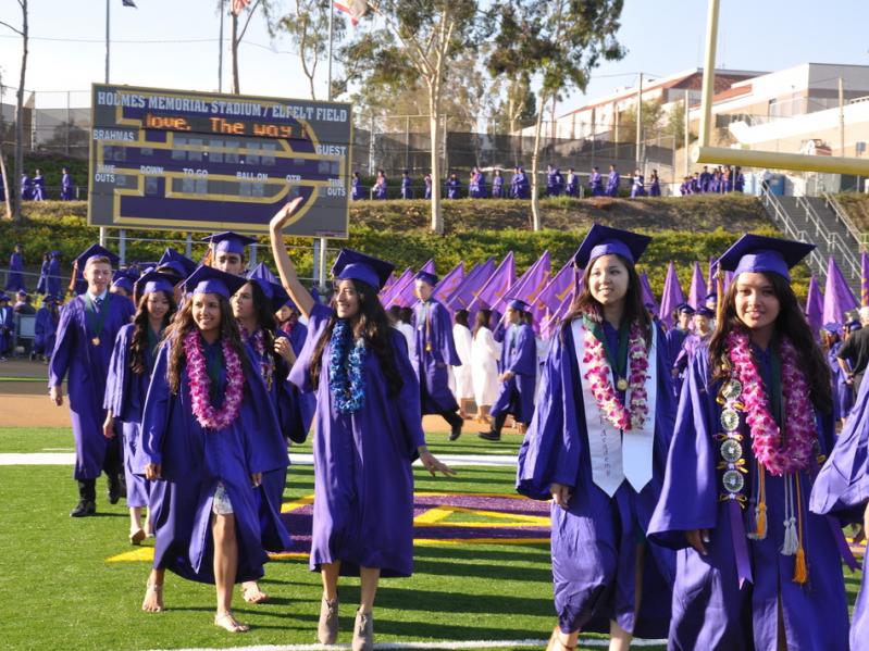 洛杉矶最优10所公立中学排名!哪些城市上榜?