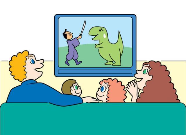 这样看动画片,孩子不伤眼还能更聪明