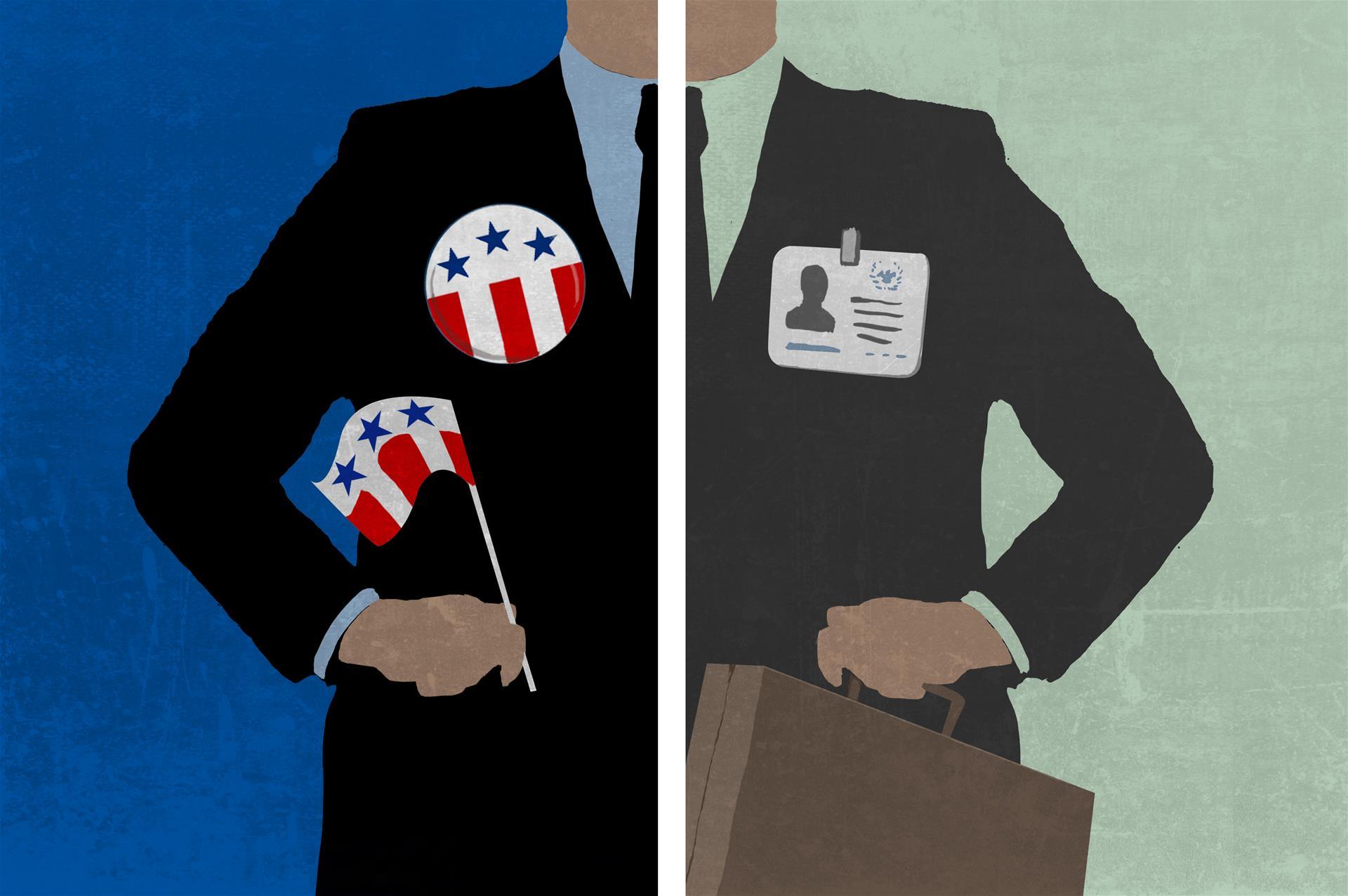 美国政府部门的工作是怎样的?