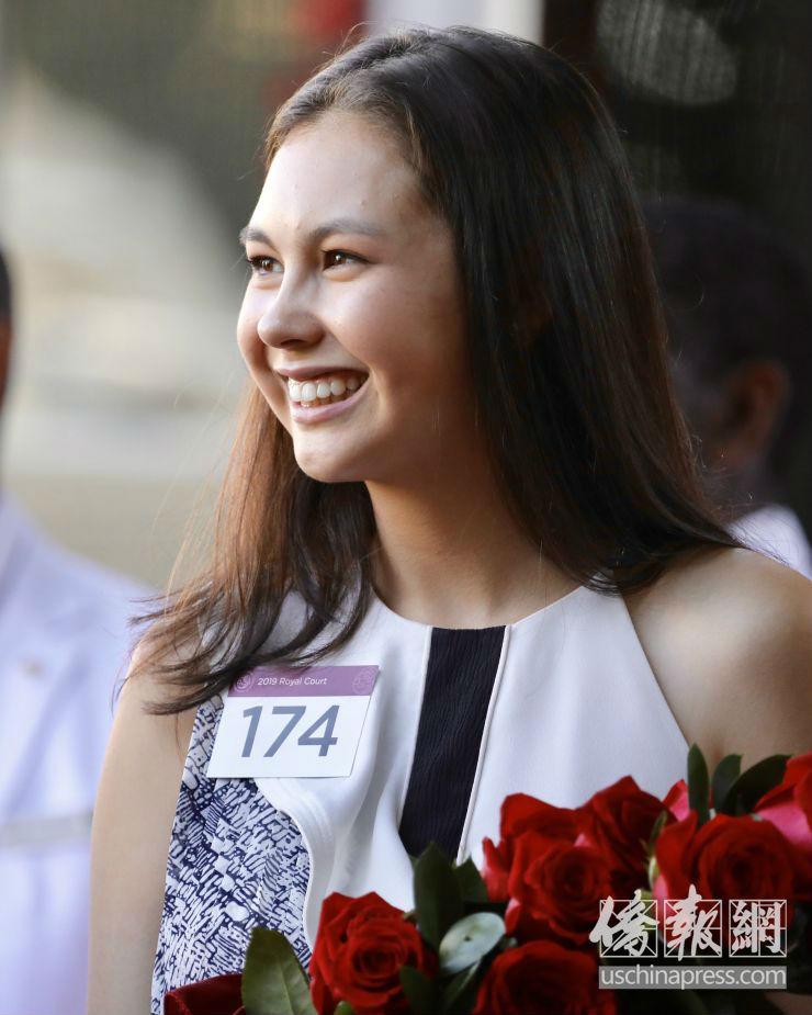 2019玫瑰花车游行七公主出炉 华裔公主靓丽