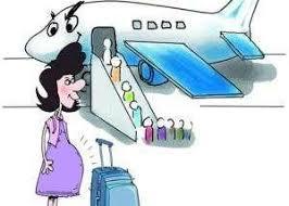 第一次带娃坐飞机,这位来美探亲的新手妈妈给机上每个乘客发了副耳塞….