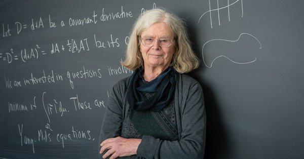几乎找不到工作的女博士 怎么就得了数学界最高奖?