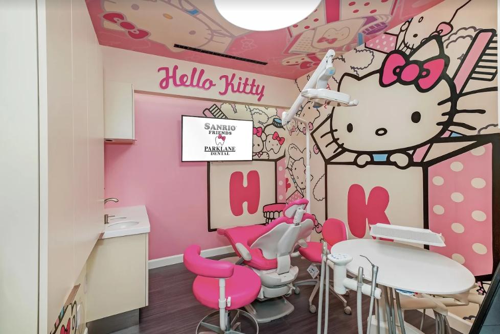 美國第一家以 Hello Kitty & Friends 系列爲主題的牙科診所來到洛杉矶啦!
