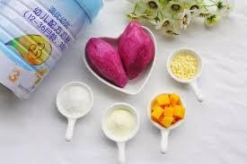 18个月婴儿的辅食:奶香芒果球