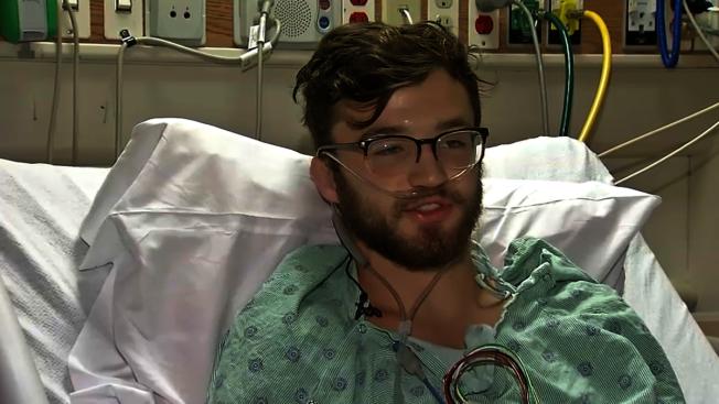 抽电子烟,18岁的少年肺衰竭差点丧命