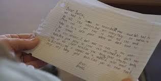 7岁受虐男童写信给耶诞老人 许愿得到好爸爸