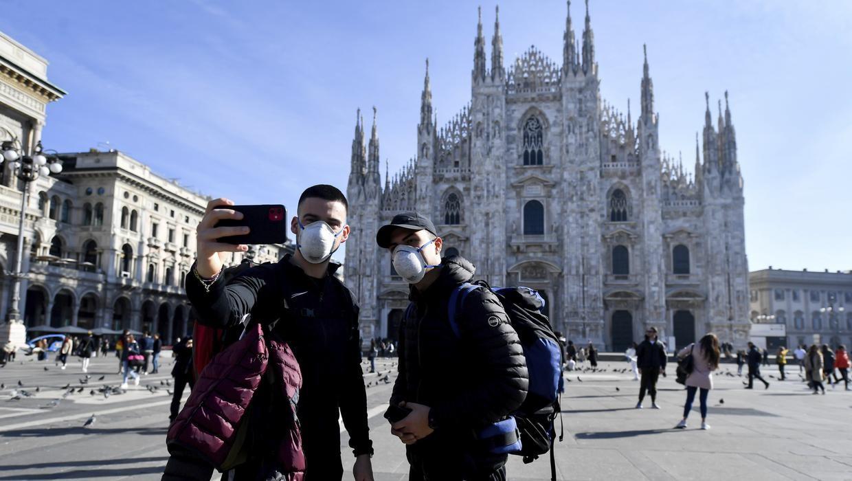 新冠病毒疫情肆虐欧洲 美国多所大学召回在意大利学生