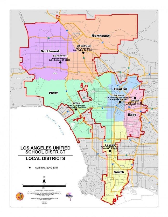 加州洛杉矶联合学区:停课将延至5月1日