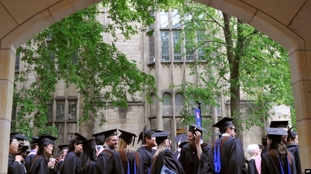 美国司法部:耶鲁大学招生程序歧视亚裔与白人