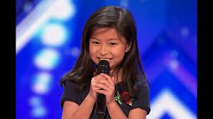 9岁华裔小女孩 在美国达人上一唱惊人 她是怎么培养的?