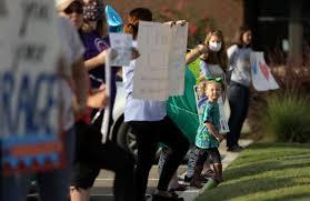 洛杉矶联合学区:十分之一无症状儿童的冠状病毒检测呈阳性